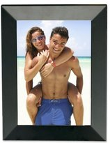 Lawrence Frames Black Wood 4 by 6 Picture Frame