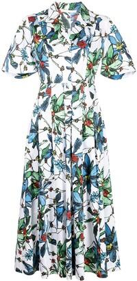 Jason Wu Collection Floral-Print Dress