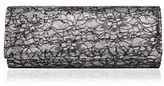 Nina Abba Lace Roll Envelope Clutch