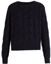 Nili Lotan Ralph cable-knit cashmere sweater