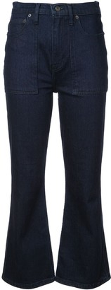 Proenza Schouler White Label PSWL Flared Jeans