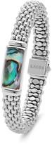 Lagos Sterling Silver Maya Abalone Doublet Rope Bracelet
