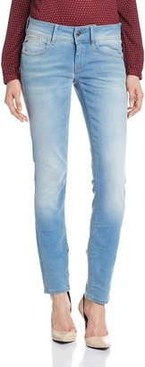 G Star Women's Lynn Midrise Skinny Mauro Stretch Denim Light Aged Jean 27/32
