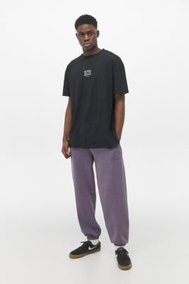 iets frans... Overdyed Lilac Joggers - Purple L at Urban Outfitters