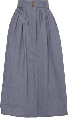 Martin Grant Belted Gathered Skirt