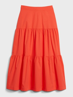 Gap Tiered Maxi Skirt