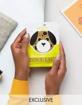 Beauty Extras ASOS Exclusive Animal Sheet Masks - Dog