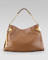 Gucci New Slim Hobo Bag, Medium Brown