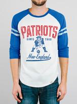 Junk Food Clothing Nfl New England Patriots Raglan-sugar/liberty-xl