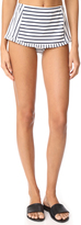 Tory Burch Sail Stripe Skirted Bottoms