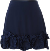 See by Chloe ruffled mini skirt - women - Silk/Viscose - 38