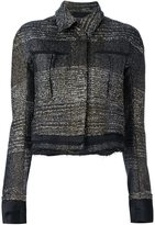 Haider Ackermann 'Bussey' jacket - women - Cotton/Acrylic/Nylon/Rayon - 34