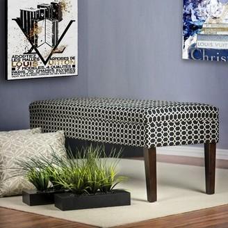 Red Barrel Studio Terese Ikat Upholstered Bench