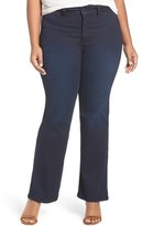 NYDJ Isabella Stretch Trouser Jeans (Paris Nights) (Plus Size)