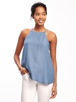 Old Navy High-Neck Tencel® Cami for Women