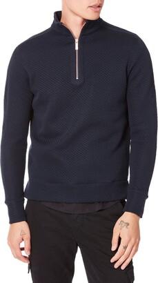 Good Man Brand Slim Fit Half Zip Pullover