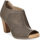 Giani Bernini Alanny Footbed Perforated Booties, Only at Macy's