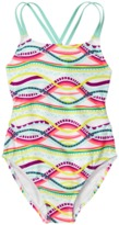 Crazy 8 Geo 1-Piece Swimsuit