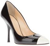 Giuseppe Zanotti Design contrast toe pump