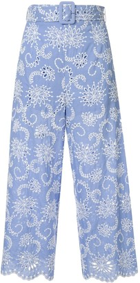 Alice McCall Cloud Obscurity broderie anglaise trousers