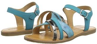 Geox Kids Sandal Eolie 1 (Big Kid) (Turquoise) Girl's Shoes