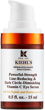 Kiehl's Powerful Strength Line-Reducing & Dark Circle-Diminishing Vitamin C Eye Serum 15ml