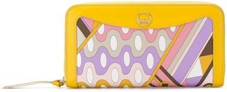 Emilio Pucci Vivara Baby print wallet