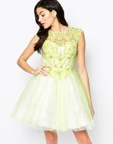 Forever Unique Winnie Lace Applique Prom Dress