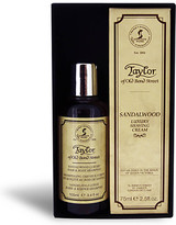 Taylor Of Old Bond Street Taylor of Old Bond Street Sandalwood Hair & Body Shampoo 100ml And Shaving Cream Tube 75ml