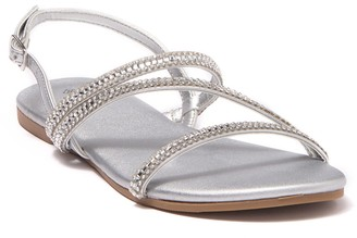 Call it SPRING Embellished Strappy Sandal