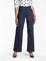 Boden Windsor Wide Leg Jeans, Indigo