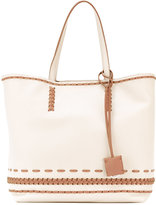 Tod's women shopper tote - women - Cotton/Leather - One Size