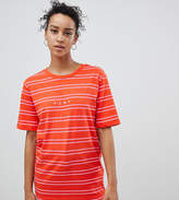 Puma Exclusive To Asos T-Shirt In Pink Stripe