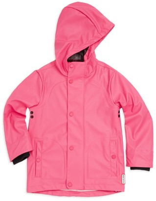Hunter Little Girl's Waterproof Raincoat