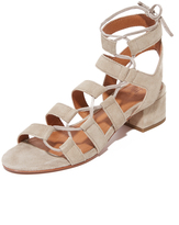 Frye Chrissy Side Ghillie City Sandals