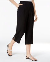 JM Collection Pull-On Cropped Pants, Created for Macy's