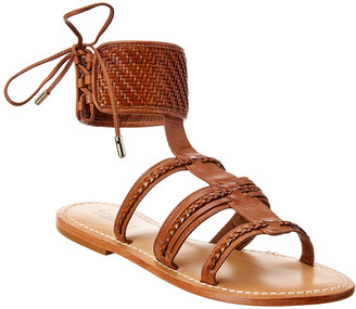 Schutz Dudinik Leather Sandal