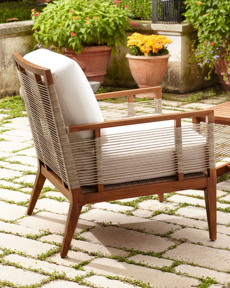 Amalfi by Rangoni Palecek Outdoor Lounge Chair with Cushions