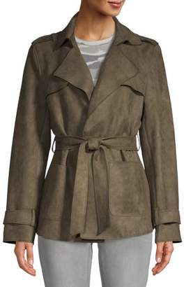 N. Heart Crush Women's Faux Suede Jacket