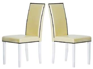 Warehouse of Tiffany Blazing Upholstered Dining Chair of Tiffany