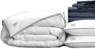 Pillow Guy Luxe Soft & Smooth White Goose Down Bedding