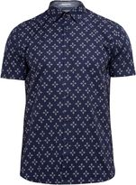 Ted Baker Waaze Geo Print Cotton Shirt