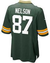 Nike Men's Jordy Nelson Green Bay Packers Game Jersey