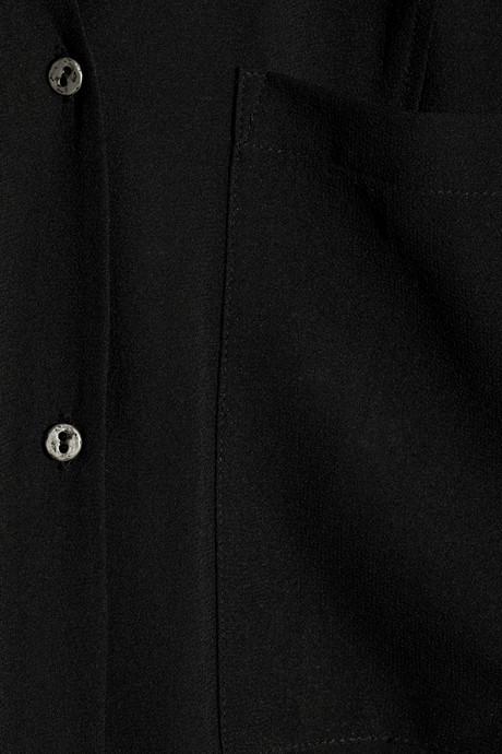 Helmut Lang Ghost silk-chiffon shirt dress