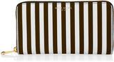 Henri Bendel Centennial Stripe Zip Around Continental Pocket Wallet