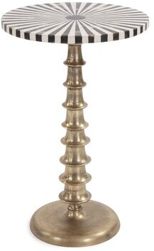 Thumbnail for your product : World Menagerie Salunga Pedestal End Table