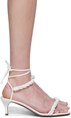 Valentino White Garavani The Rope Sandals