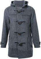 Anrealage 'Noise Panel' duffle coat