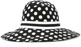 Dolce & Gabbana polka dot hat - women - Cotton/Spandex/Elastane/Silk - 56