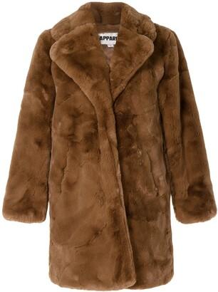 Apparis Sasha oversized faux-fur coat